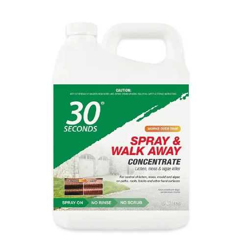 30 Seconds Spray & Walk Away 5L Concentrate