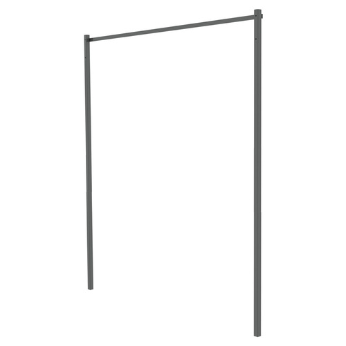 Hills Premium Folding Frame Post Kit for Fold Down Clotheslines - Pebble Beach, Midnight Sky or Basalt